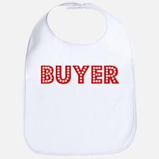 Retro Buyer (Red) Bib