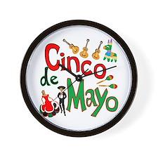Cinco de Mayo Wall Clock