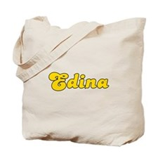 Retro Edina (Gold) Tote Bag
