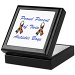 Autistic Twins Keepsake Box