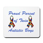 Autistic Twins Mousepad