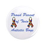 "Autistic Twins 3.5"" Button (100 pack)"