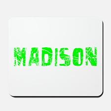 Madison Faded (Green) Mousepad
