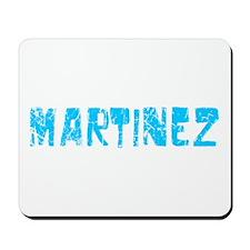 Martinez Faded (Blue) Mousepad