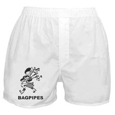 Vintage Bagpipes Boxer Shorts