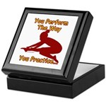 Gymnastics Keepsake Box - Perform