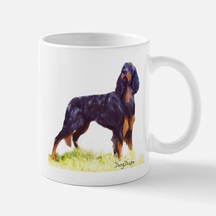 Gordon Setter portrait Mug