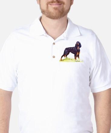 Gordon Setter portrait Golf Shirt