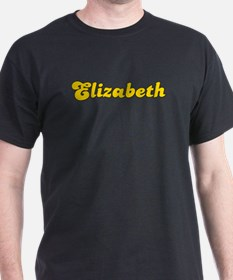 Retro Elizabeth (Gold) T-Shirt