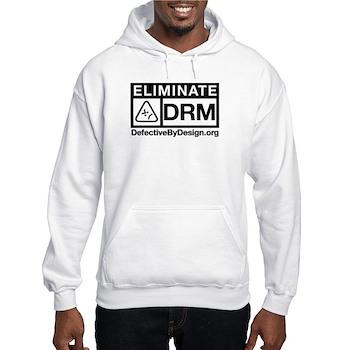 Eliminate DRM Hooded Sweatshirt