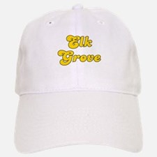 Retro Elk Grove (Gold) Baseball Baseball Cap
