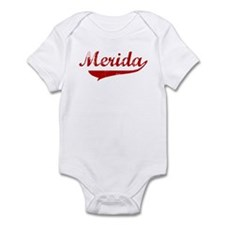 Merida (red vintage) Infant Bodysuit