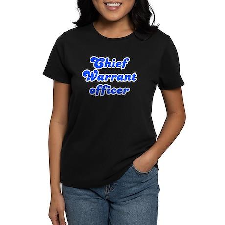 Retro Chief Warra.. (Blue) Women's Dark T-Shirt