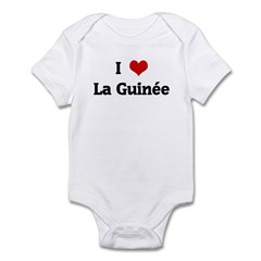 I Love La Guine Infant Bodysuit