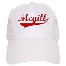 Mcgill (red vintage) Baseball Cap