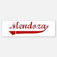 Mendoza (red vintage) Bumper Bumper Bumper Sticker