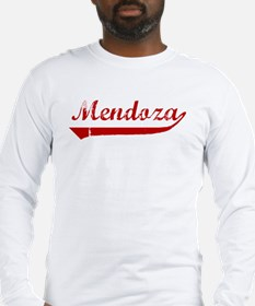 Mendoza (red vintage) Long Sleeve T-Shirt