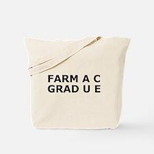 Funny Pharmacy Degree Tote Bag