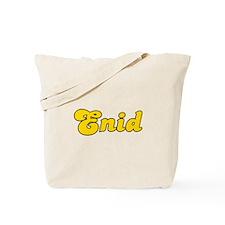 Retro Enid (Gold) Tote Bag