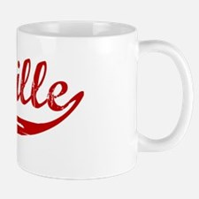 Melville (red vintage) Small Mugs