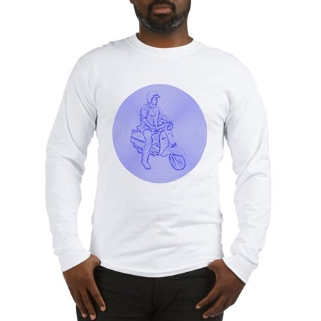 Record Scooter Mod Long Sleeve T-Shirt