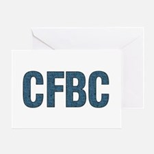 CFBC Blue Logo Greeting Card