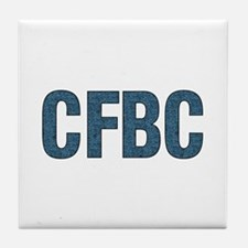 CFBC Blue Logo Tile Coaster