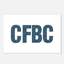 CFBC Blue Logo Postcards (Package of 8)