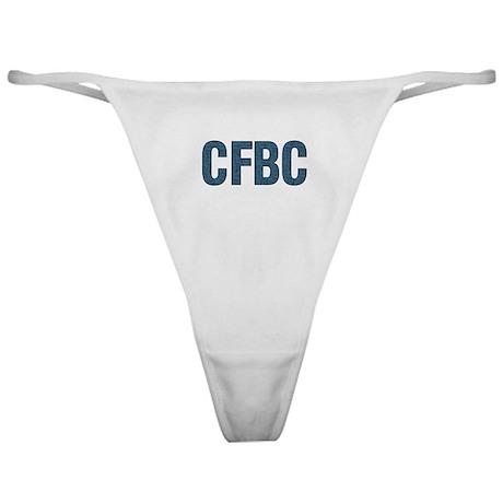 CFBC Blue Logo Classic Thong