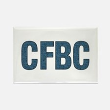 CFBC Blue Logo Rectangle Magnet