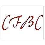 CFBC Red Logo Small Poster