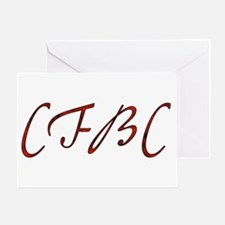 CFBC Red Logo Greeting Card