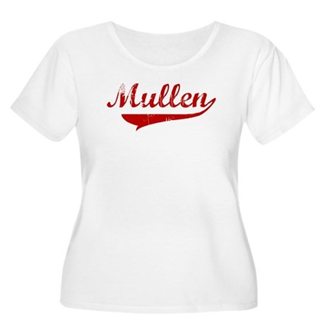Mullen (red vintage) Women's Plus Size Scoop Neck