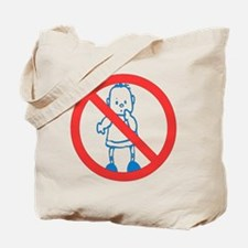 No Kids Allowed Tote Bag