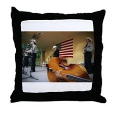 Dr. Ralph Stanley Throw Pillow