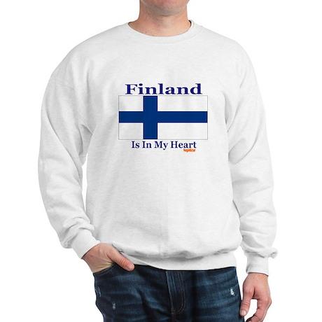 Finland - Heart Sweatshirt