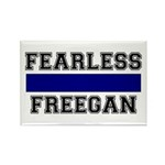 Fearless Freegan Rectangle Magnet (10 pack)