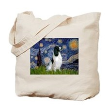 Starry Night English Springer Tote Bag
