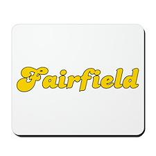 Retro Fairfield (Gold) Mousepad