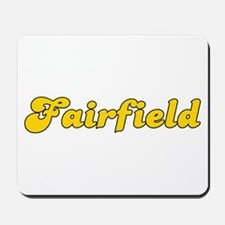 Retro Fairfield (Gold) Mousepad