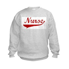Nurse (red vintage) Sweatshirt