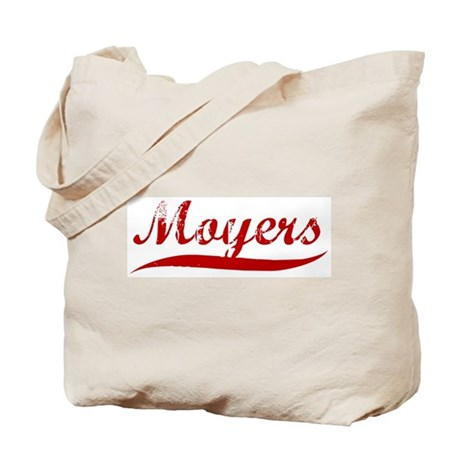 Moyers (red vintage) Tote Bag