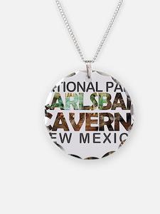 Carlsbad Caverns - New Mexic Necklace Circle Charm