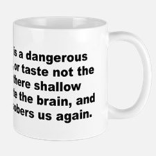 Funny Alexander pope Mug