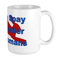 Overpopulation Bombs Mug