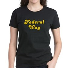 Retro Federal Way (Gold) Tee