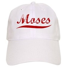 Moses (red vintage) Baseball Cap