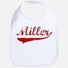 Miller (red vintage) Bib