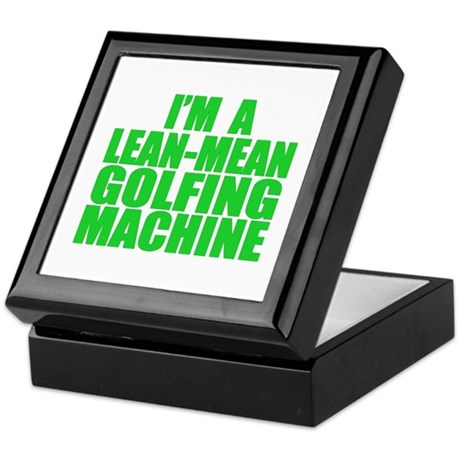 Lean-Mean Golfing Machine Keepsake Box