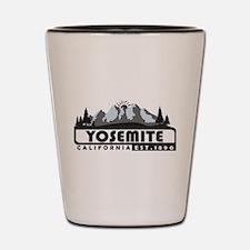 Yosemite - California Shot Glass